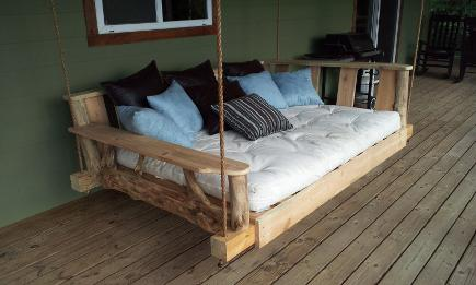 porch swing beds